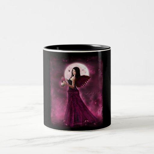 Sinfuly pink coffee mug