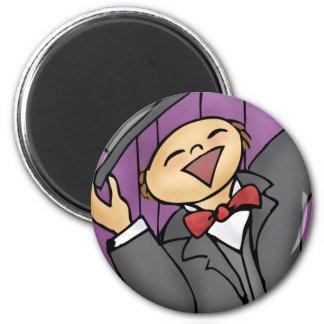 Sing! 2 Inch Round Magnet