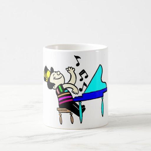 Sing a long classic white coffee mug