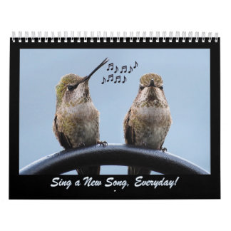 Sing A New Song Everyday Calendar