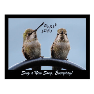 Sing A New Song Postcard