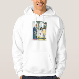 Sing a song of sixpence, A pocket full of rye Hooded Sweatshirts