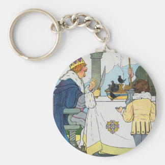 Sing a song of sixpence, A pocket full of rye Keychain