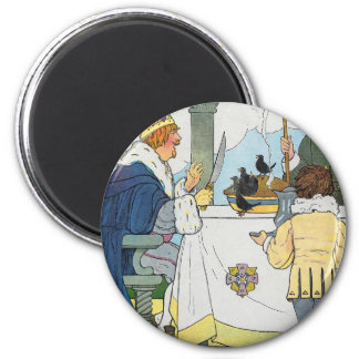 Sing a song of sixpence A pocket full of rye Fridge Magnet