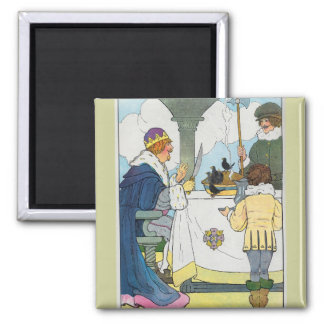 Sing a song of sixpence A pocket full of rye Refrigerator Magnet