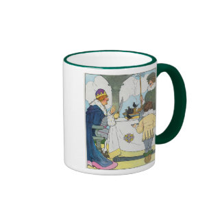 Sing a song of sixpence A pocket full of rye Coffee Mugs