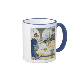 Sing a song of sixpence A pocket full of rye Coffee Mug