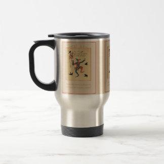 Sing a Song of Sixpence Good Luck Travel Mug Mugs