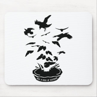 Sing a song of sixpence mouse pad