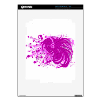 Sing_A_Song Skin For iPad 2