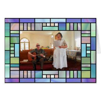 Sing-Along at the Church Note Card