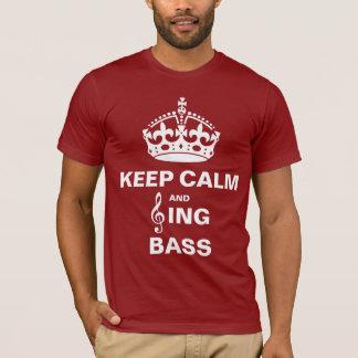 Sing Bass T-Shirt