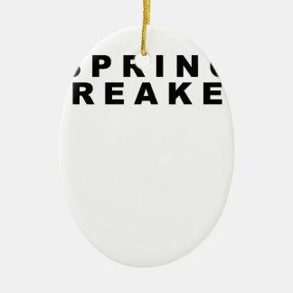 Sing Breaker t-shirt.png Ceramic Ornament