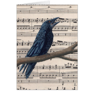 Sing Stationery Note Card