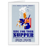 Sing For Supper Musical 1939 WPA