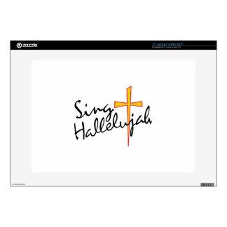 Sing Hallelujah Decal For Laptop