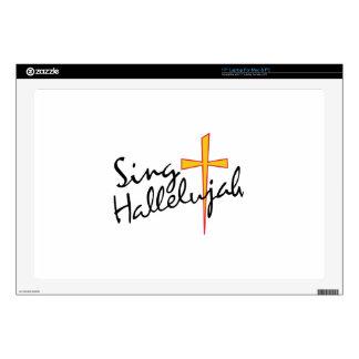 Sing Hallelujah Laptop Skins