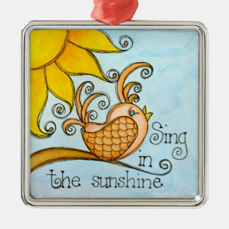 Sing In The Sunshine Christmas Ornament