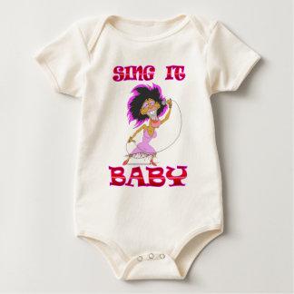 SING it BABY Baby Bodysuit