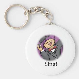 Sing! Keychain