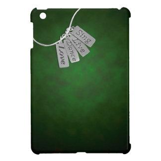 Sing, Live, Dance and Love on Green Smoke iPad Mini Cases