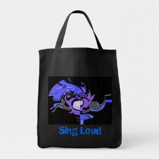 Sing Loud Grocery Bag