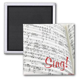 Sing! Magnet