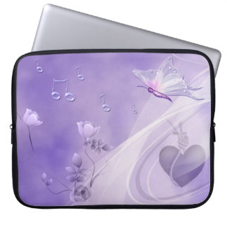 Sing me a Butterfly 2 Laptop Sleeve