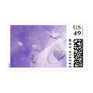 Sing me a Butterfly 2 Postage Stamp