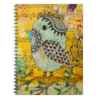 SING Mixed Media Collage Journals