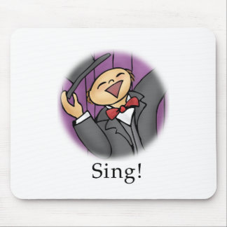 Sing! Mouse Pad