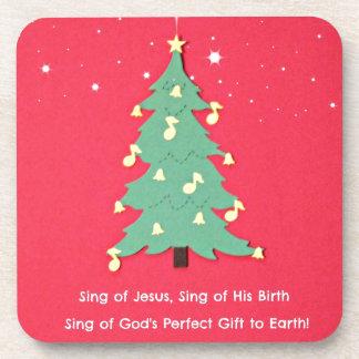 Sing of Jesus, Sing of His birth... Coasters