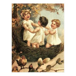 Sing of Spring! Postcard