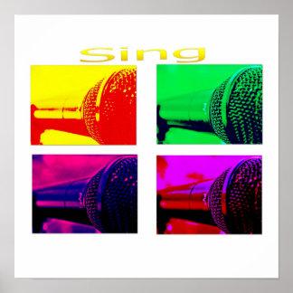 sing on print