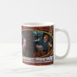 Sing One Song for My Old Kentucky Home Classic White Coffee Mug