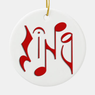 sing christmas tree ornaments