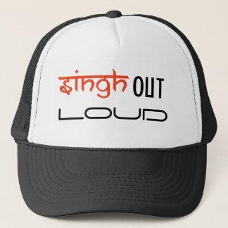 sing out loud trucker hat