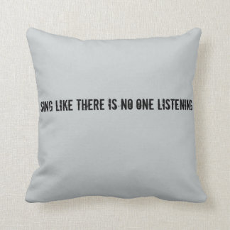 Sing Pillow for Teens.
