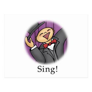 Sing! Postcard