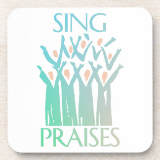 Sing Praises Choir Beverage Coaster
