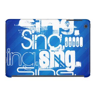 Sing; Royal Blue Stripes. iPad Mini Retina Cover