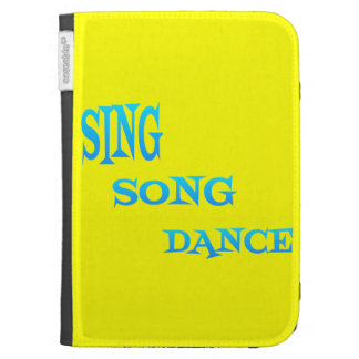 Sing Song Dance Art Kindle case