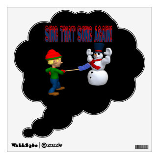 Sing That Song Again Wall Decal