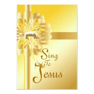 Sing To Jesus-Customize Card