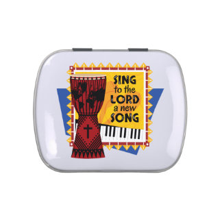 Sing to the LORD a New Song Jelly Belly Candy Tin