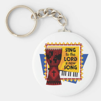 Sing to the LORD a New Song Keychain