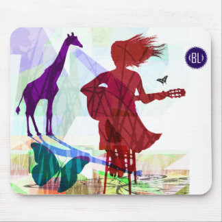 Sing to wild song, network mouse DAP Mouse Pad
