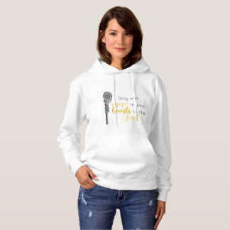 Sing With Grace in Your Heart to the Lord - Hoodie