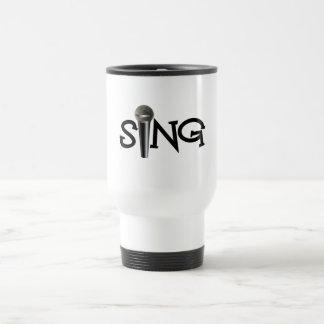 Sing with Microphone Mug