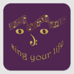 sing your life stickers